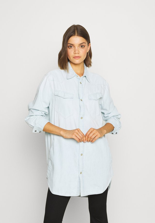TACOMA  - Button-down blouse - sun faded arctic