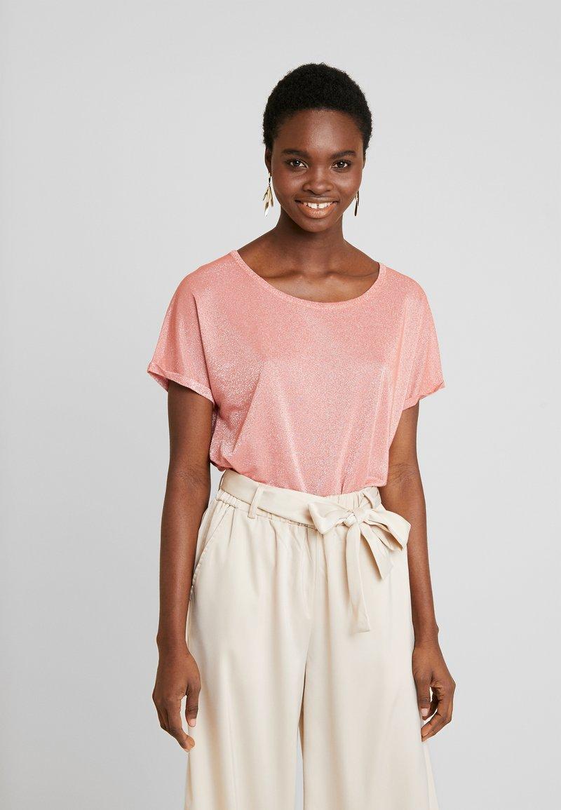 Mos Mosh - KAY TEE - Print T-shirt - sugar coral