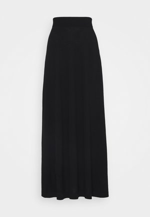 MEARA PLAIN SKIRT - Gonna a campana - black