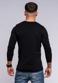 Jack & Jones - INFINITY  - Long sleeved top - black - 2