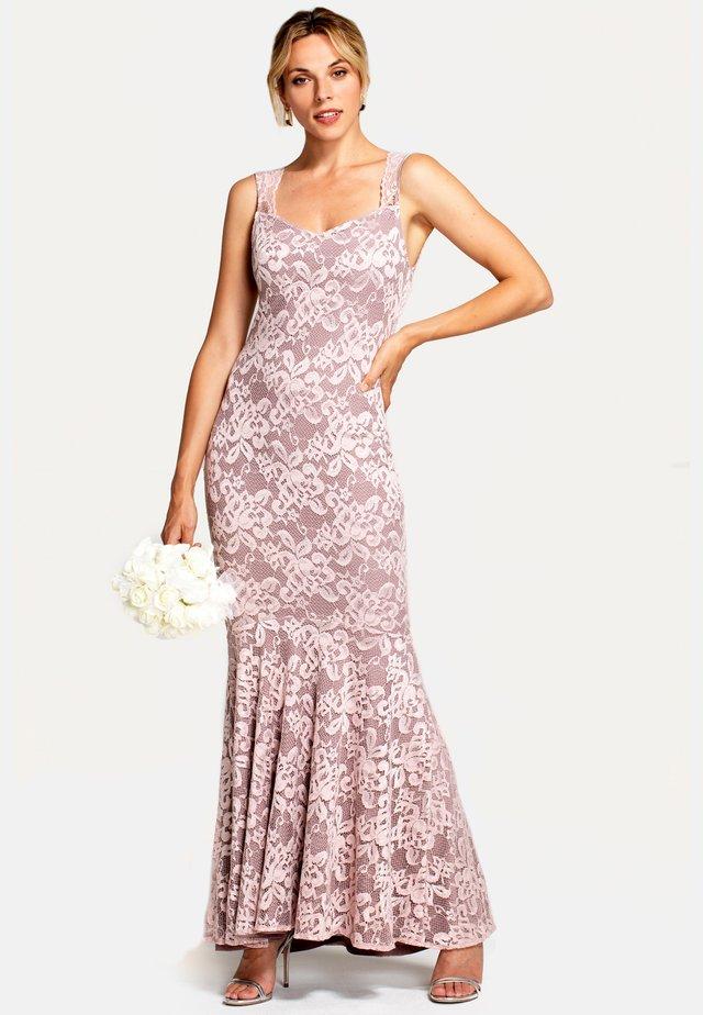 Vestido largo - pastel pink
