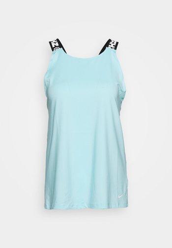 ELASTKIA - Camiseta de deporte - glacier ice/white