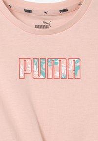 Puma - ALPHA SILHOUETTE  - Print T-shirt - cloud pink - 2