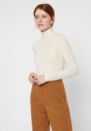 LUREX - Long sleeved top - off-white
