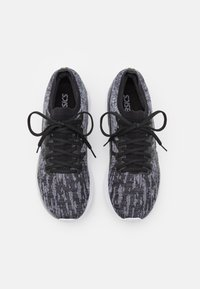 ASICS - GEL NIMBUS 23 KNIT - Neutral running shoes - sheet rock/black - 3