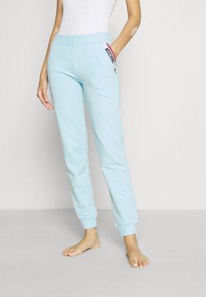 HOME PANTS - Pyjamasbukse - light blue
