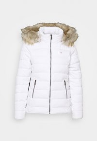ESSENTIAL HOODED - Veste d'hiver - white