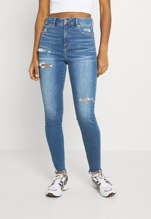 SUPER HI-RISE - Jeans Skinny Fit - bright star