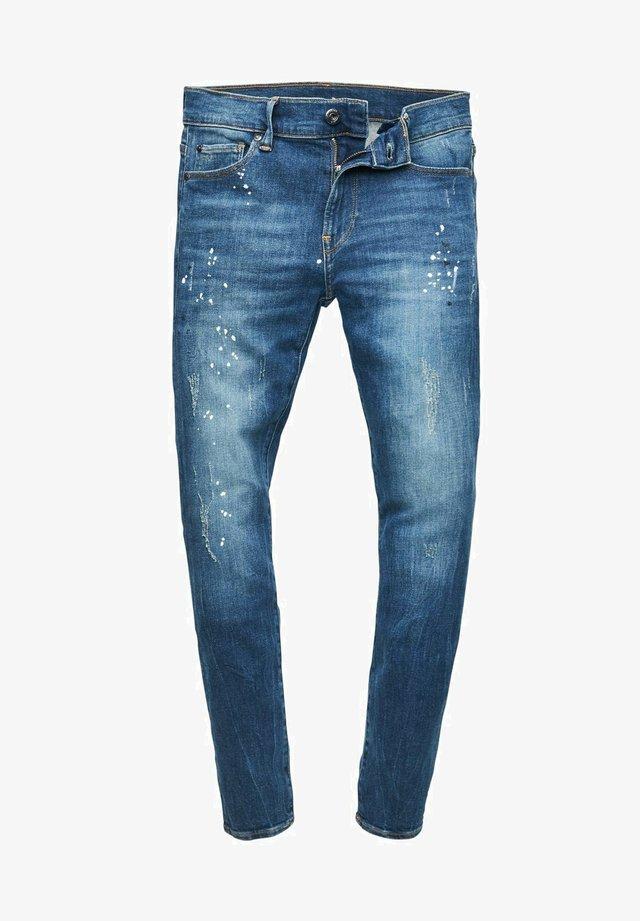 Jeans Skinny - dark indigo lame