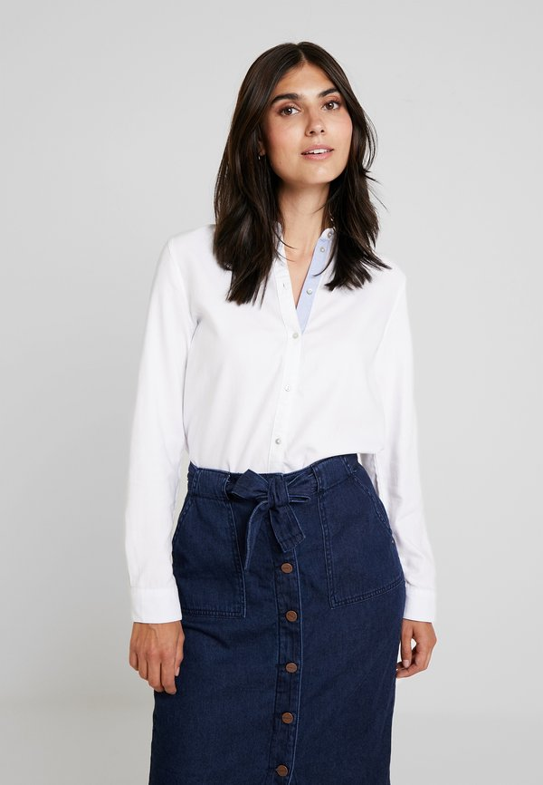 Esprit SOFT OXFORD - Koszula - white/biały TVIM