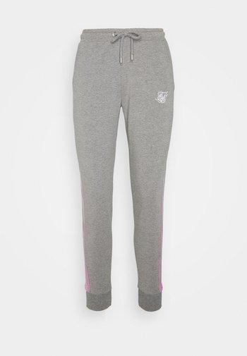 FADE RUNNER TRACK PANTS - Tracksuit bottoms - grey marl