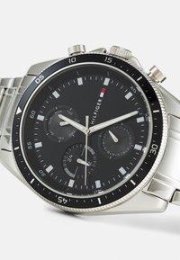 Tommy Hilfiger - PARKER - Watch - silver-coloured/black - 4