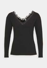 Nly by Nelly - EDGE - Long sleeved top - black - 4