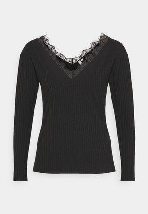 EDGE - Långärmad tröja - black