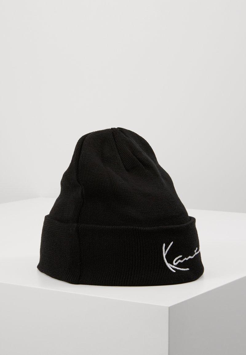 Karl Kani - SIGNATURE BEANIE - Berretto - black