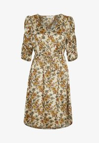 Cream - EMMELIECR  - Day dress - tinsel flowers - 5