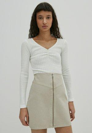 CAROLINA - Long sleeved top - offwhite