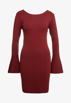 ABITO DRESS - Cocktailkjole - rosewood red