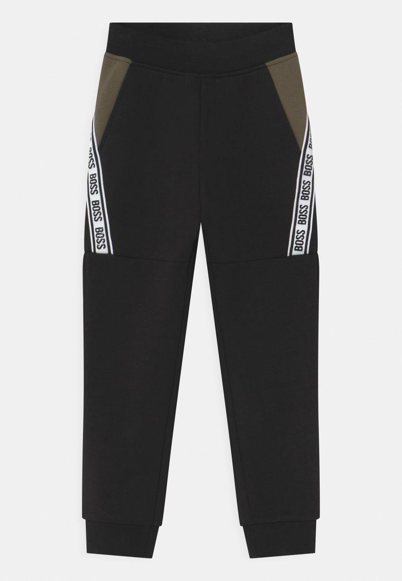 BOSS Kidswear - Tracksuit bottoms - black