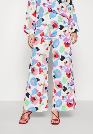 FREYA PRINT TROUSER - Spodnie materiałowe - multi