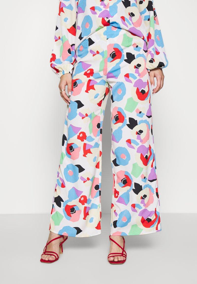 Never Fully Dressed - FREYA PRINT TROUSER - Trousers - multi