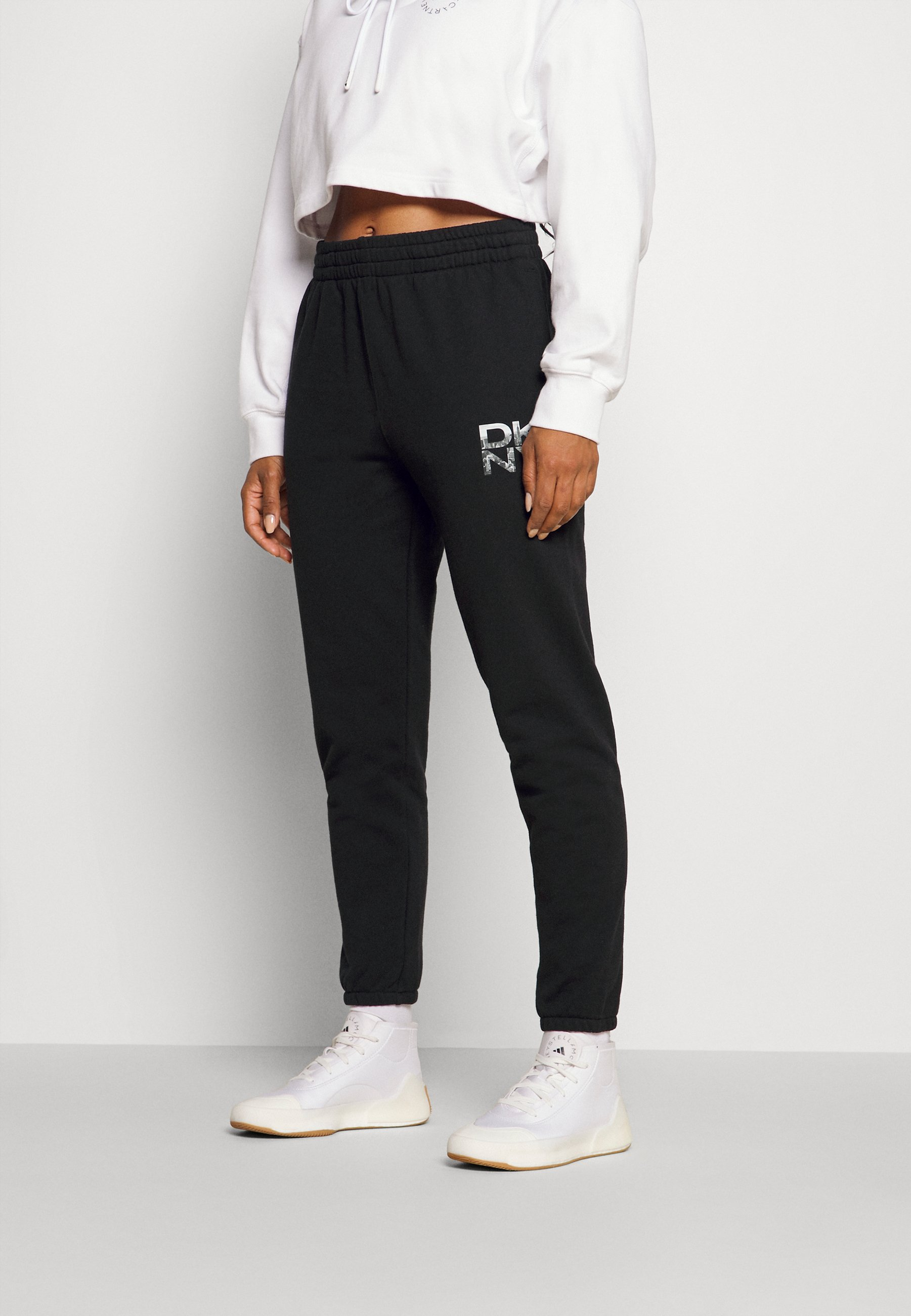 Women STACKED CITY LOGO HIGH RISE - Tracksuit bottoms