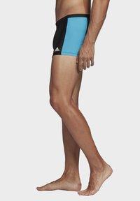 adidas Performance - FITNESS THREE-SECOND SWIM BRIEFS - Swimming trunks - black - 2