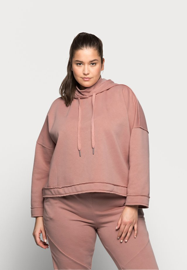 NMSALLY HIGH NECK - Collegepaita - misty rose