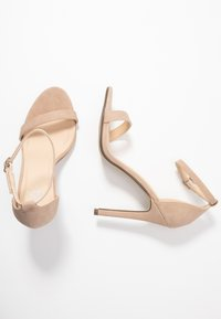 4th & Reckless - JASMINE - Sandalen met hoge hak - nude - 3