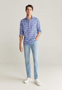 Mango - TANIT - Shirt - dunkles marineblau - 1
