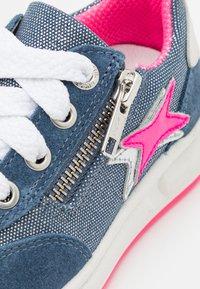 Superfit - MERIDA - Sneakers basse - blau/rosa - 5