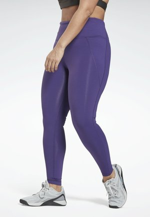 LUX HIGH-RISE PLUS SIZE - Leggings - purple