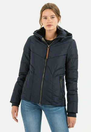 STEPP MIT ABNEHMBARER KAPUZE - Winter jacket - night blue