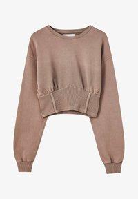 PULL&BEAR - Sweatshirt - mottled pink - 4
