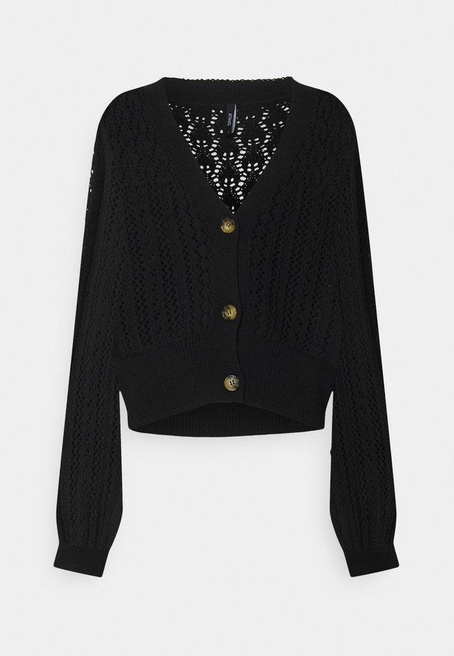 ONLNOLA CARDIGAN - Vest - black