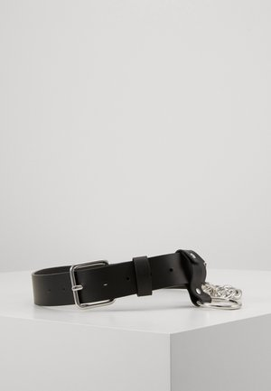 CHRIS BELT - Pásek - black
