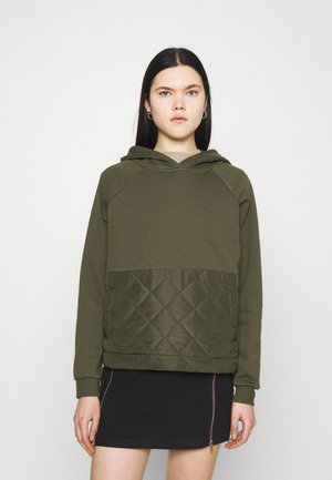 VMNATALIE QUILTED - Sweatshirt - ivy green
