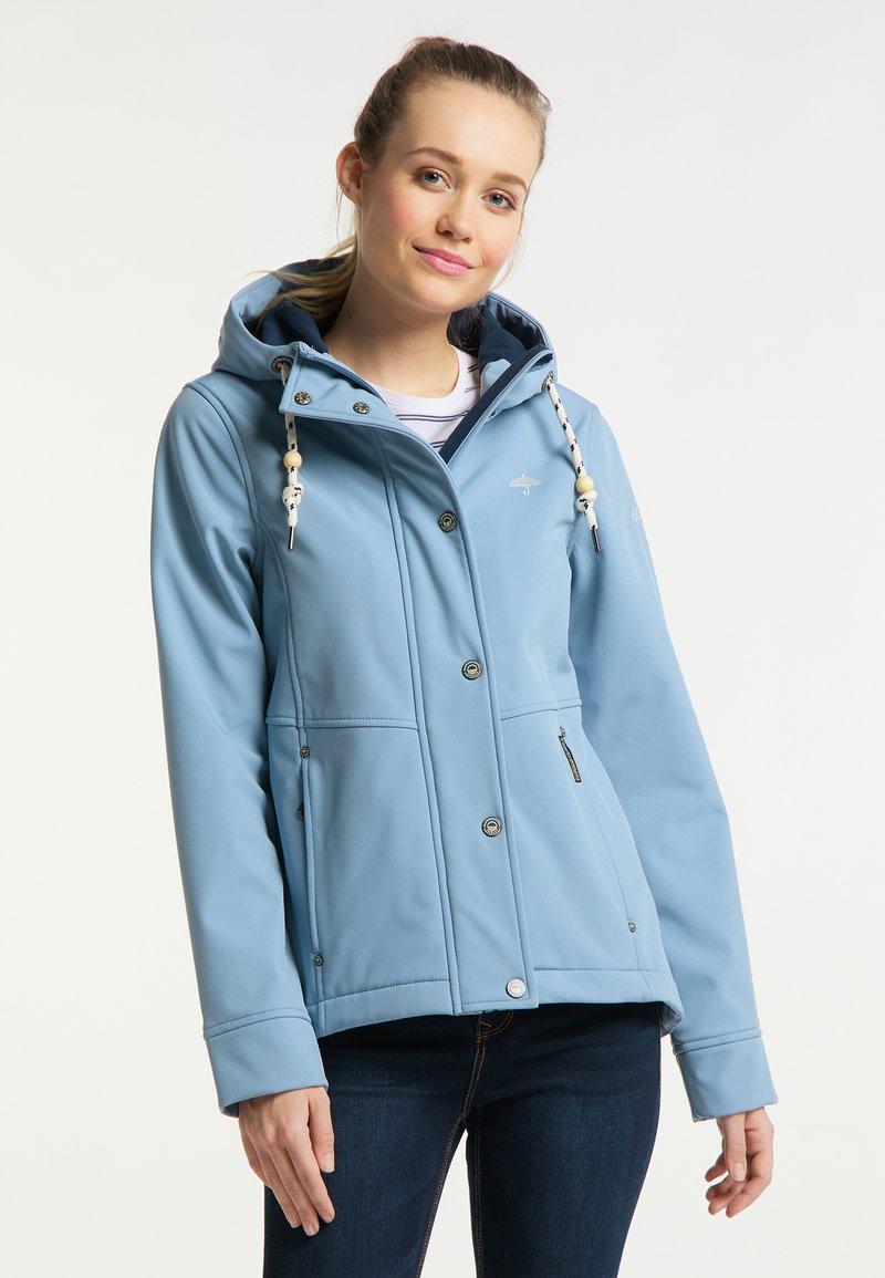 Schmuddelwedda - Waterproof jacket - denimblau