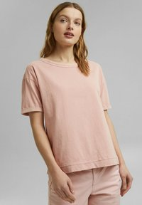 Esprit - Basic T-shirt - nude - 0