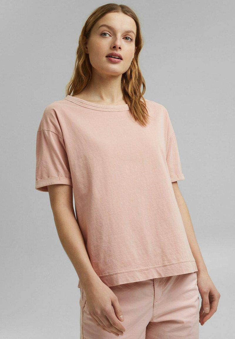 Esprit - Basic T-shirt - nude