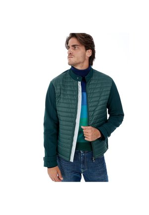 Light jacket - petrolio