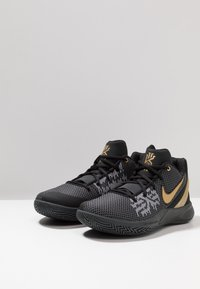 Nike Performance - KYRIE FLYTRAP II - Basketball shoes - black/metallic gold/anthracite - 2