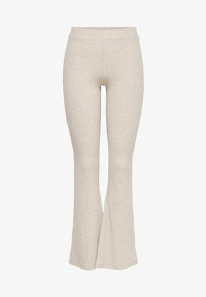 ONLNELLA FLARED PANT - Leggings - Trousers - pumice stone