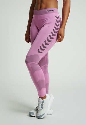 FIRST SEAMLESS - Leggings - cotton candy
