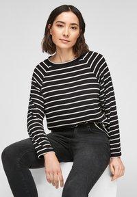 s.Oliver - Jumper - black stripes - 4