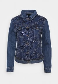 Desigual - CHAQ MEX - Veste en jean - denim medium - 4
