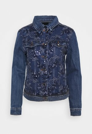 CHAQ MEX - Kurtka jeansowa - denim medium