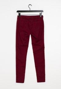 NAF NAF - Slim fit jeans - red - 1