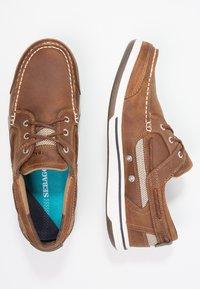 Sebago - TRITON - Boat shoes - walnut - 1