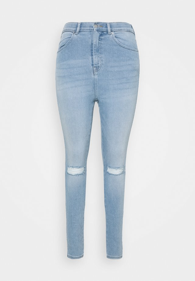 MOXY - Jeans Skinny Fit - icicle blue ripped
